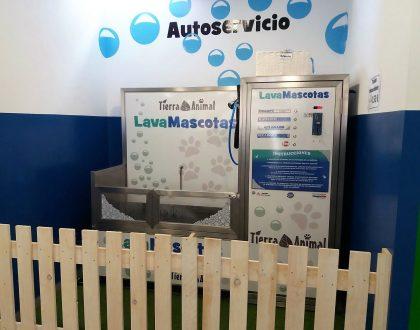Nuevo LavaMascotas en Tierra Animal Burela