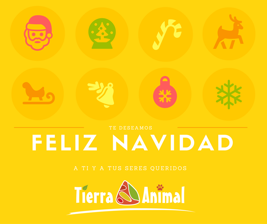Tierra Animal os desea Felices Fiestas